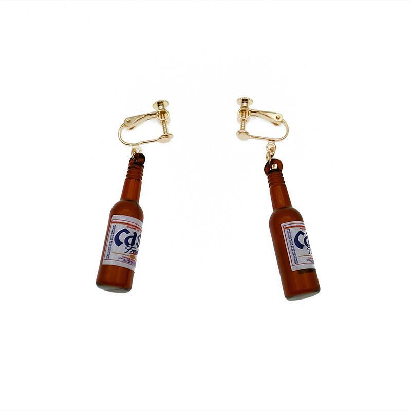 Brew Buds Beer Bottle Earrings - Theone Apparel