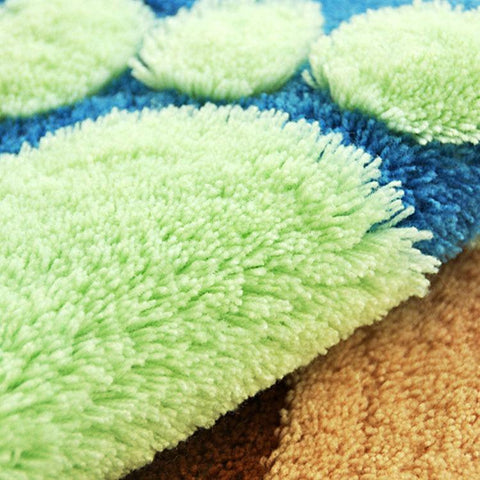 Tiny Feet Bath Rug For Kids