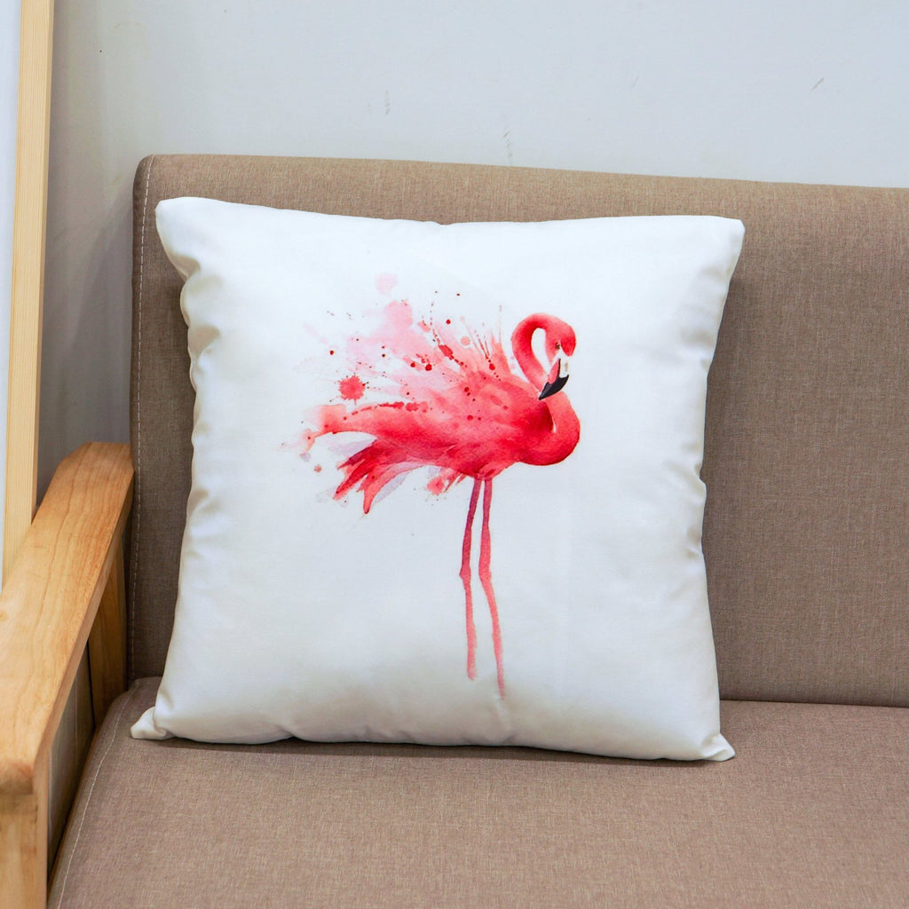 Tropical Pink Flamingo Pillow Covers