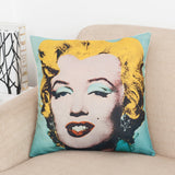 Warhol Artistic Graphic Print Pillow Covers