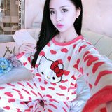 Cute Cartoon Pajamas Set - Theone Apparel