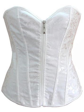 Zippered Full Cup Lingerie Corset