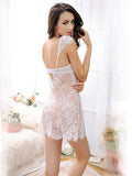 Flower Lacy Babydoll with G String - Theone Apparel