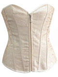 Zippered Full Cup Lingerie Corset - Theone Apparel