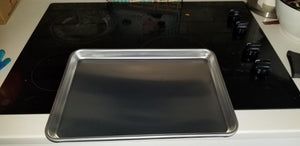 "Spring Chef Aluminum Jelly Roll Pan, Baking Cookie Sheet For Oven, Heavy Duty, 11.2"" x 15.7"""
