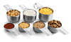 Spring Chef Measuring Cups, Stainless Steel - Set of 7