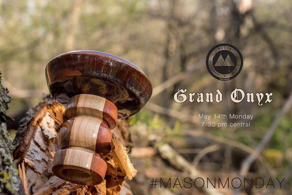 Grand Onyx Bowl - Mason Shishaware T-shirt