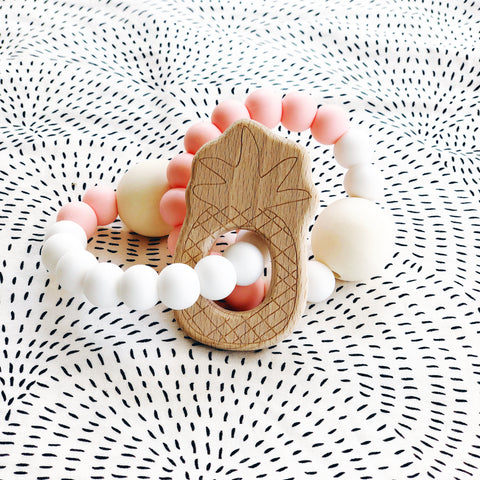 Lena Lu Teething Rattle