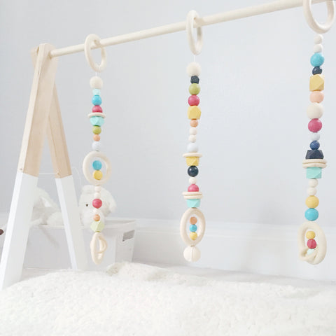 Signature Scandi Wooden Play Gym
