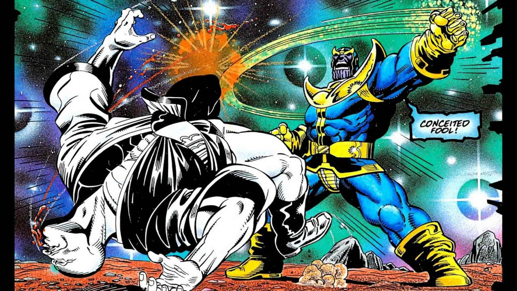 11 Of Stan Lee's Best Comic Book Characters Thanos and Silver Surfer