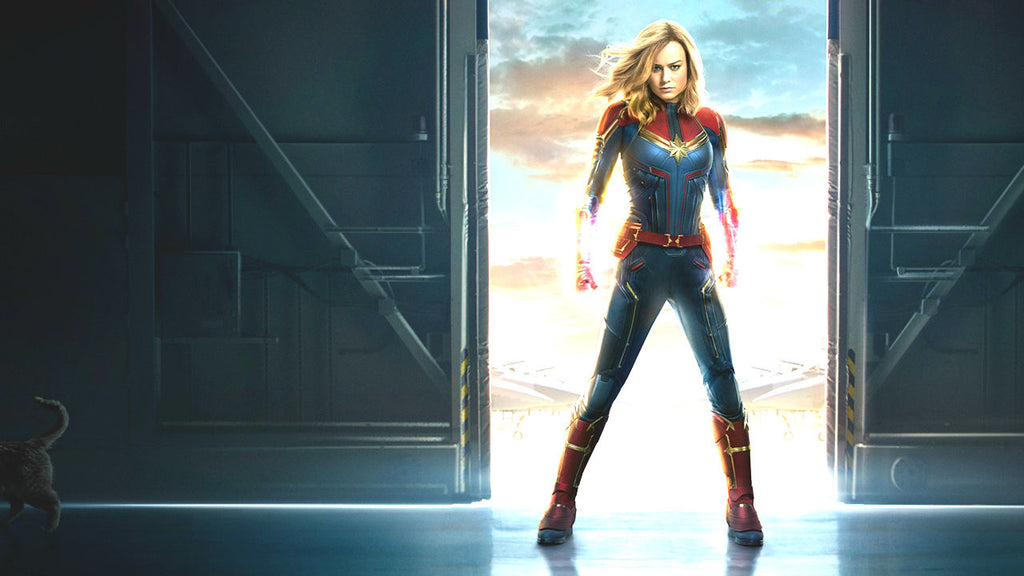 Captain Marvel 2019 Movie Superhero