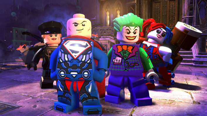 LEGO DC Super-Villains (2018) Video Games