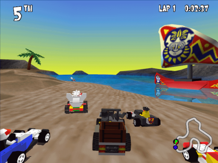 LEGO Racers (1999) Video Game