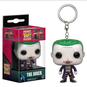 DC Suicide Squad | The Joker Pop! Vinyl Figure Key Chain Pop! Vinyl Figure Out Of The Box Nerd Default Title