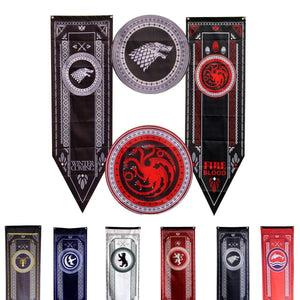 Game of Thrones House Banners Game Of Thrones Out Of The Box Nerd