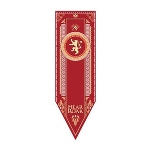 Game of Thrones House Banners Game Of Thrones Out Of The Box Nerd Lannister XS 16x50cm