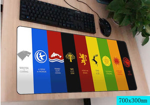 Game Of Thrones PC Gaming Mouse and Keyboard Mat Out Of The Box Nerd