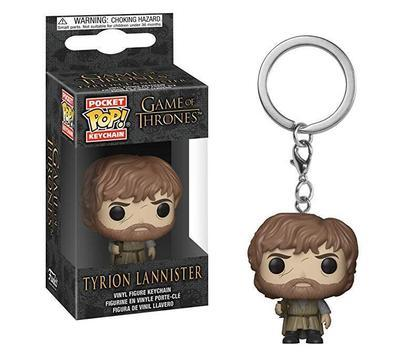 Game Of Thrones | Tyrion Lannister Funko Pop! Key Chain Pop! Vinyl Figure Out Of The Box Nerd Default Title