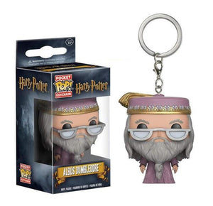 Harry Potter | Professor Dumbledore Pop! Vinyl Figure Key Chain Pop! Vinyl Figure Out Of The Box Nerd Default Title