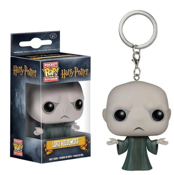 Harry Potter | Voldemort Pop! Vinyl Figure Key Chain Pop! Vinyl Figure Out Of The Box Nerd Default Title