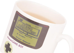 Nintendo Official Licensed GameBoy Heat Changing Mug Mugs Out Of The Box Nerd