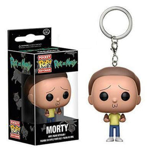 Rick & Morty | Morty Pop! Vinyl Figure Key Chain Pop! Vinyl Figure Out Of The Box Nerd Default Title