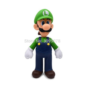 Super Mario Bros Character Miniature Models Super Mario Bros Merch Out Of The Box Nerd 23cm Luigi no box