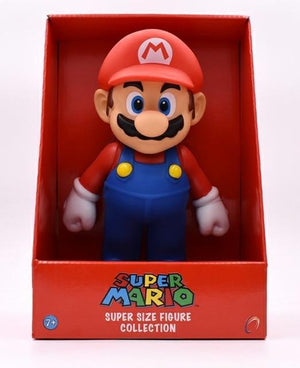 Super Mario Bros Character Miniature Models Super Mario Bros Merch Out Of The Box Nerd 23cm Mario in box