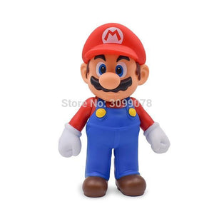 Super Mario Bros Character Miniature Models Super Mario Bros Merch Out Of The Box Nerd 23cm Mario No box