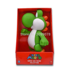 Super Mario Bros Character Miniature Models Super Mario Bros Merch Out Of The Box Nerd 23CM yoshi in box