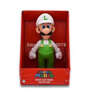 Super Mario Bros Character Miniature Models Super Mario Bros Merch Out Of The Box Nerd Whitehat Luigi inbox