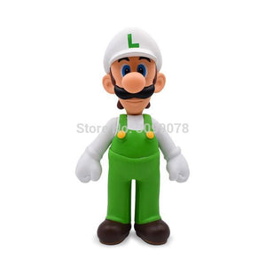 Super Mario Bros Character Miniature Models Super Mario Bros Merch Out Of The Box Nerd Whitehat Luigi nobox