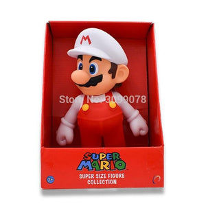 Super Mario Bros Character Miniature Models Super Mario Bros Merch Out Of The Box Nerd Whitehat Mario inbox