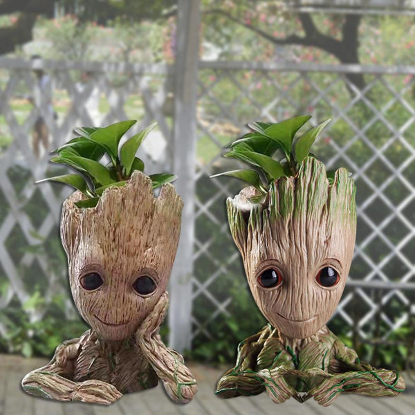 Teenage Groot Plant Your Own Flower Pot Holder Marvel Out Of The Box Nerd