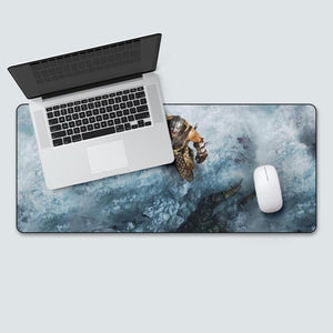 The Elder Scrolls Skyrim Extra Large Gaming Mouse Pad The Elder Scrolls Merch Out Of The Box Nerd