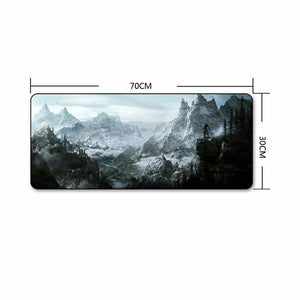 The Elder Scrolls Skyrim Extra Large Gaming Mouse Pad The Elder Scrolls Merch Out Of The Box Nerd A