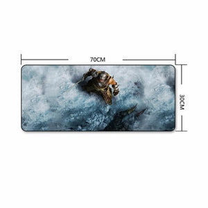 The Elder Scrolls Skyrim Extra Large Gaming Mouse Pad The Elder Scrolls Merch Out Of The Box Nerd F