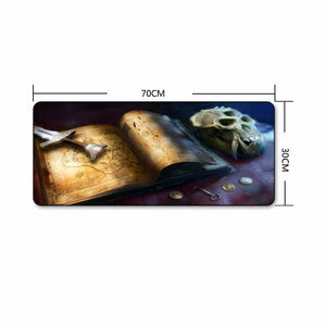 The Elder Scrolls Skyrim Extra Large Gaming Mouse Pad The Elder Scrolls Merch Out Of The Box Nerd G