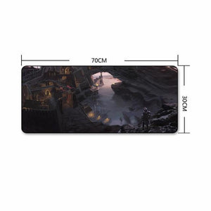 The Elder Scrolls Skyrim Extra Large Gaming Mouse Pad The Elder Scrolls Merch Out Of The Box Nerd H