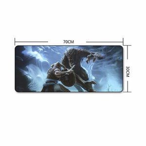 The Elder Scrolls Skyrim Extra Large Gaming Mouse Pad The Elder Scrolls Merch Out Of The Box Nerd J