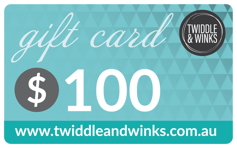 Twiddle & Winks Gift Card - $100