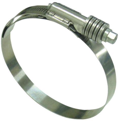 8000 Series All Stainless Constant Torque Heavy Duty Hose Clamps