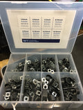 9750 Series Vinyl Coated Zinc Plated Pipe Retaining Clips Packs of 10 and 5 clips and Workshop Kit.