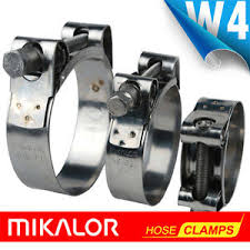 9000 Series Mikalor All Stainless  Super Clamps W4
