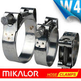 9000-2 Series Mikalor All Stainless Large Super Clamps W4