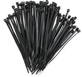 9270 Series Nylon Cable Ties Black 100 Pack