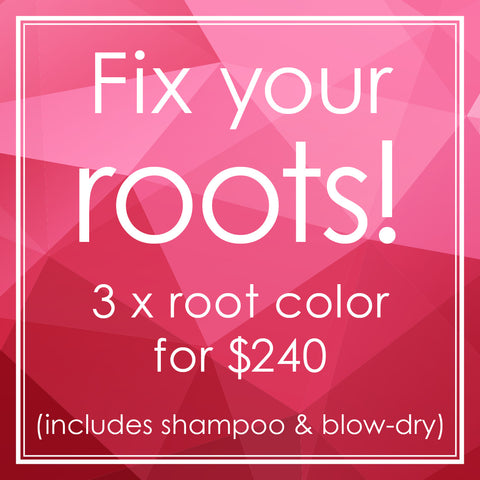 3-time Root Color package