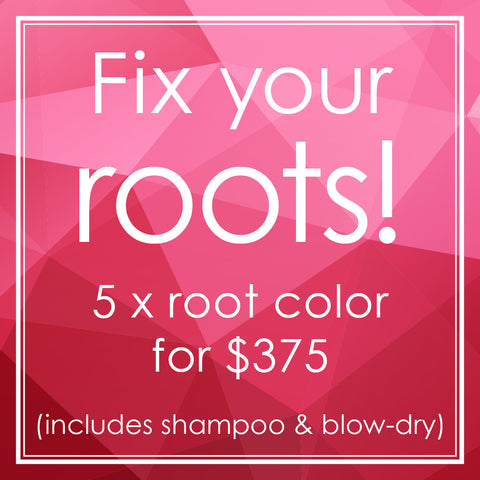 5-time Root Color package