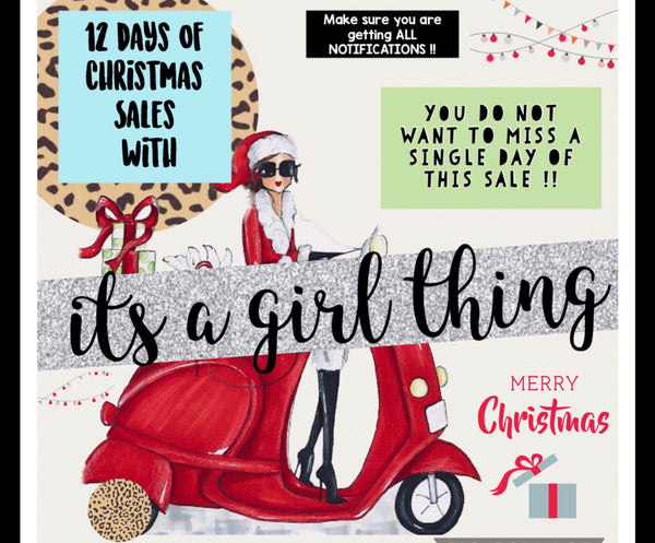 12 DAYS OF CHRISTMAS SALE