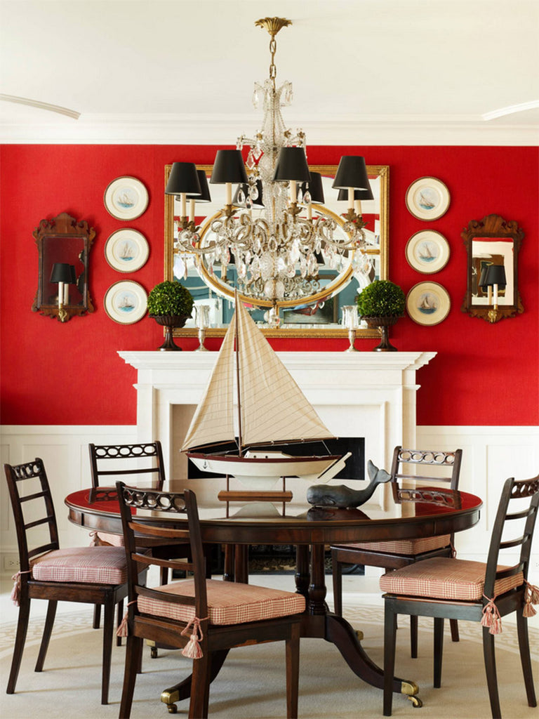 Red Dining Room - Anthony Baratta